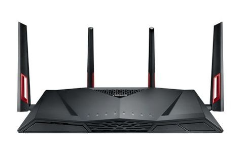 ASUS Asus - RT-AC88U Wireless AC3100 Dual-Band Gigabit Router (90IG01Z0-BU2000)