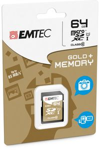 EMTEC SD Card 64GB SDXC (CLASS10) F-FEEDS (ECMSD64GXC10GP)