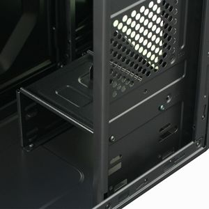 COOLTEK KX, Midi-Tower,  PC, Plastik, Stål, 1x 120 mm, Top, ATX, Micro-ATX,  Mini-ITX - (Fjernlager - levering  2-4 døgn!!) (CT KX G)