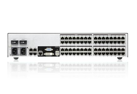 ATEN 64-Port 9-Bus KVM Over IP Switch, with Audio & Virtual Media Support (KN8164V-AX-G)
