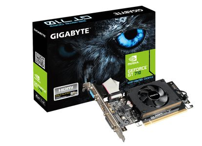 GIGABYTE GeForce GT 710 2GB DDR3 Low Profile Heatsink (GV-N710D3-2GL)