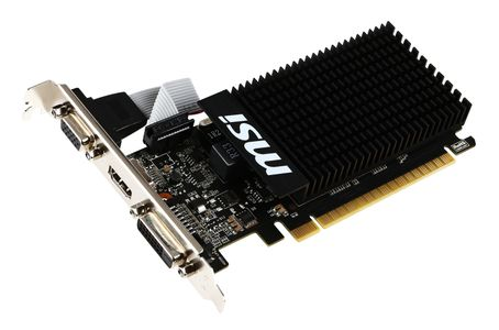 MSI GeForce GT 710 1GD3H LP HDMI DVI-D D-Sub (GT 710 1GD3H LP)
