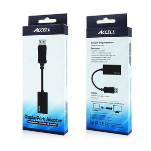 ACCELL DisplayPort 1.2 to HDMI 2.0 Active Adapter (B086B-011B $DEL)