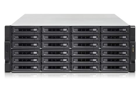 QNAP 4U 24BAY 3.5 GHZ QC 8GB 4XGBE TVS-EC2480U-SAS-RP-8GE-R2 RPSU   IN EXT (TVSEC2480USASRP8GER2)