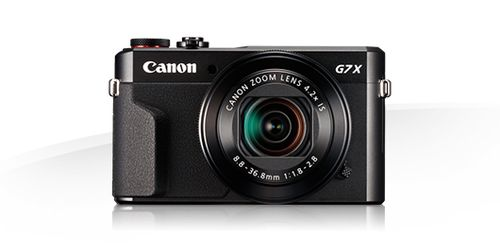 CANON Powershot G7 X Mark II Sort (1066C002)