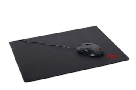 GEMBIRD gaming mouse pad, black color, size L 400x450mm (MP-GAME-L)