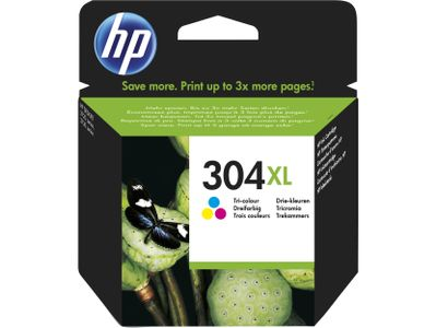 HP INK CARTRIDGE NO 304XL TRI-COLO IT/ES SUPL (N9K07AE#ABE)