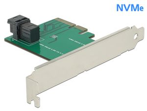 DELOCK PCIe*4 interface Card SFF-8643 NVMe (89458)
