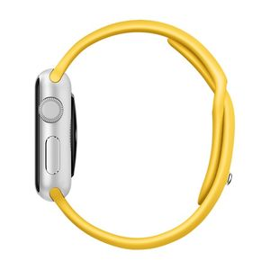 APPLE WATCH ACCS 38MM YELLOW SPORT BAND ACCS (MM7X2ZM/A)