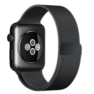 APPLE WATCH ACCS 42MM SPACE BLACK MILANESE LOOP ACCS (MLJH2ZM/A)