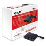 CLUB 3D USB 3.1 Type-C to Ethernet + USB3 MiniDock