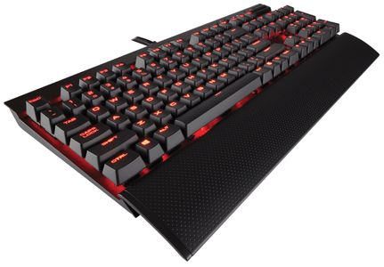 CORSAIR K70 Gaming Keyboard Backlit Red (CH-9101024-ND)