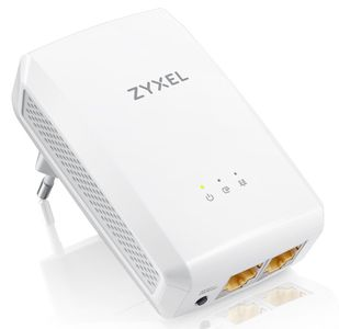 ZYXEL PLA5206 v2 1000Mbps Powerline 2xGigabit Ethernet Adaptor Twin Pack (PLA5206V2-EU0201F)