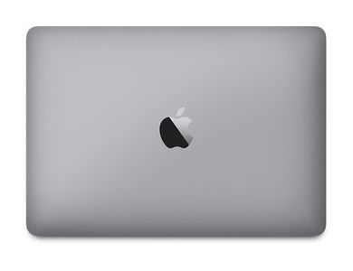 APPLE MacBook - 256/Space Gray (MLH72DK/A)