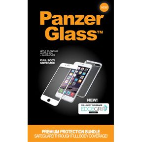 PANZERGLASS PREMIUM iPhone 6/6s White incl. EdgeGrip Cover Silver (B1005)