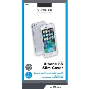 VIVANCO iPhone 5/5S Ultra Tunn Snap Case (2835425)