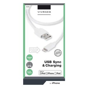 VIVANCO Apple iPhone Lightning sync/ladd (2836299)