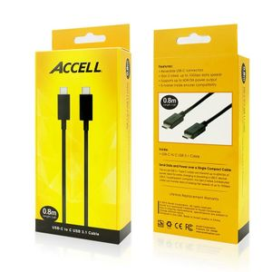 ACCELL USB-C to C USB 3.1 Cable (U190B-003B)