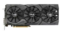 ASUS GeForce GTX 1080 ROG Strix Gaming Grafikkort,  PCI-Express 3.0, 8GB GDDR5X, DVI-D, 2xHDMI, 2xDP