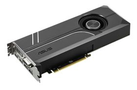 ASUS GeForce GTX 1080 Ti Turbo Skjermkort,  PCI-Express 3.0, 11GB GDDR5X, 1480/ 1582MHz,  Pascal (TURBO-GTX1080TI-11G)