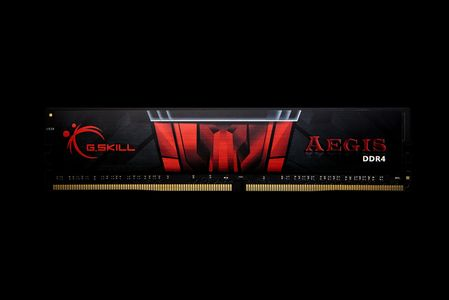 G.SKILL DDR4 8GB PC 2666 CL19 KIT(1x8GB) 8GIS Aegis 4 (F4-2666C19S-8GIS)