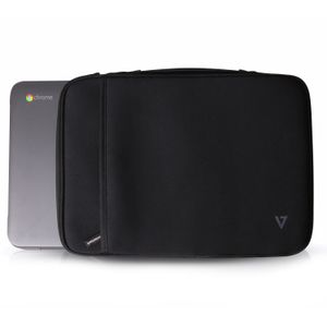 VIDEO SEVEN SLEEVE ELITE 13.3 IN CHROMEBOOK SLEEVE BLACK ACCS (CSE4-BLK-9E)