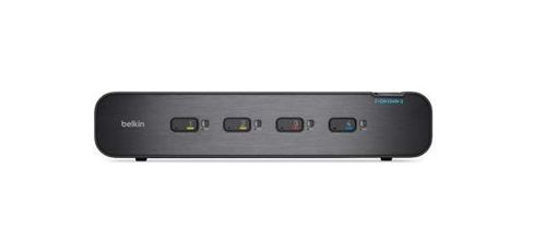 BELKIN Dual-Head KVM Switch 4-Port Plus (F1DN104W-3EA)