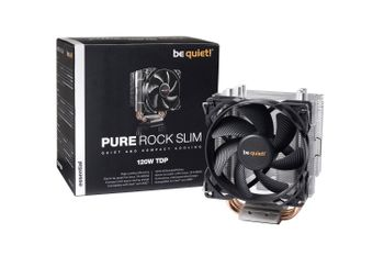 BE QUIET! Pure Rock Slim CPU cooler 1150/ 1151/ 1155/ 1156 AM2(+) AM3(+) FM1-2 (BK008)