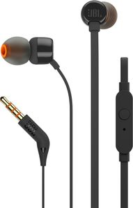 JBL T110 In-Ear Headphone Black (JBLT110BLK)