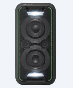 SONY GTKXB5 Bluetooth-høyttaler Extra Bass, Bluetooth,  NFC, DSSE , Strobe Light, sort (GTKXB5B.CEL)
