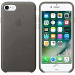 APPLE iPhone7 Leder Case (sturmgrau) (MMY12ZM/A)