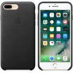 APPLE iPhone7 Plus Leder Case (schwarz) (MMYJ2ZM/A)