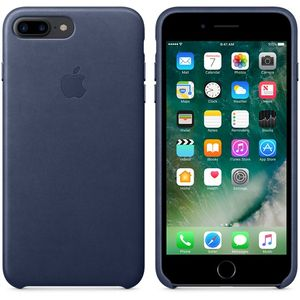 APPLE iPhone7 Plus Leder Case (mitternachtsblau) (MMYG2ZM/A)