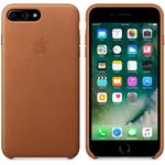APPLE IP7 Plus Leather Case Saddle Brown (MMYF2ZM/A)