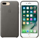 APPLE iPhone7 Plus Leder Case (sturmgrau) (MMYE2ZM/A)