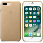 APPLE IP7 Plus Leather Case Tan (MMYL2ZM/A)