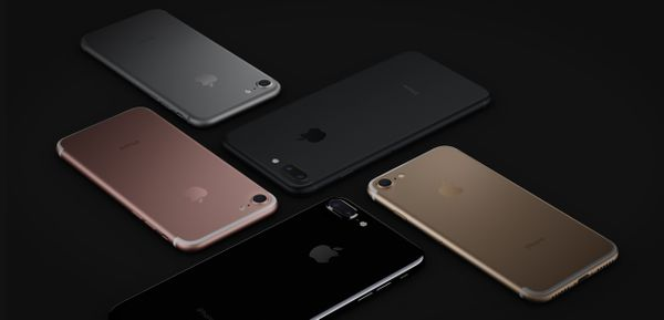 APPLE iPhone 7 Plus 128GB - kännykkä - Gagatsvart (MN4V2QN/A)