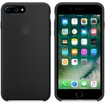 APPLE Silikondeksel iPhone 7 Plus, Svart Deksel til iPhone 7 Plus (MMQR2ZM/A)