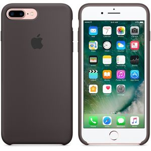 APPLE IP7 Plus Silicone Case Cocoa (MMT12ZM/A)