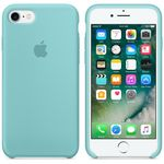 APPLE iPhone7 Silikon Case (meerblau) (MMX02ZM/A)