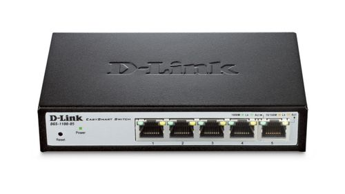 D-LINK 5-Port Gigabit Smart Switch (DGS-1100-05/E)