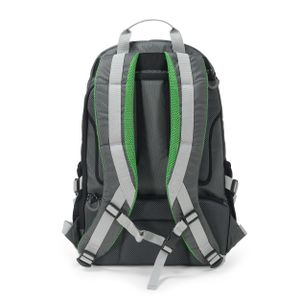 DICOTA Backpack ACTIVE 14-15.6 grey/lime (D31221)