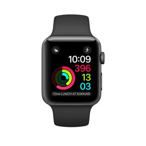 APPLE Watch Series 2 42mm Space Grey Al (MP062DH/A)