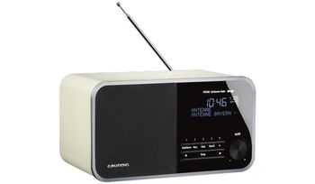 GRUNDIG DTR 3000 DAB+ White F-FEEDS (GRR3430)