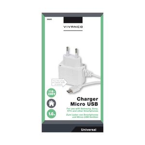 VIVANCO Power supply with Micro USB (2836265)