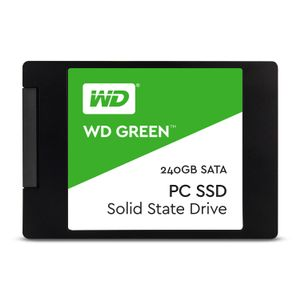 WESTERN DIGITAL WD Green SSD 2.5'' 240GB SATA/600 (WDS240G1G0A)