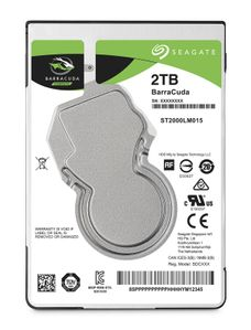 SEAGATE HDD int. 2,5 2TB Barracuda (ST2000LM015)