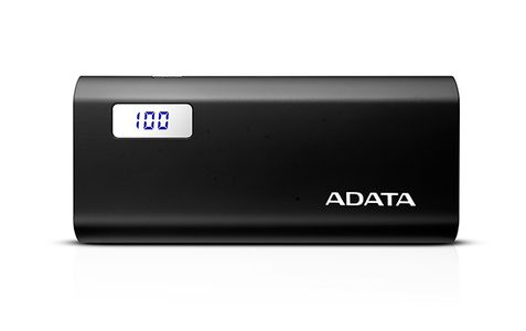 A-DATA ADATA P12500D Power Bank, 20000mAh, black (AP12500D-DGT-5V-CBK)