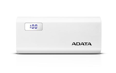 A-DATA ADATA P12500D Power Bank, 20000mAh, white (AP12500D-DGT-5V-CWH)