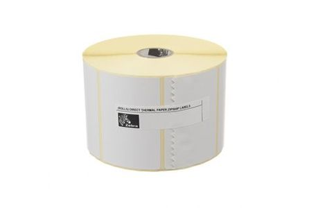 ZEBRA Label, Polyester,  51x32mm, Thermal Transfer, Z-ULTIMATE 3000T WHITE, Coated, Permanent Adhesive, 25mm Core (880247-031D)